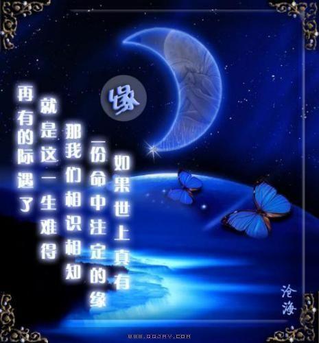 【岁末征文|天涯现代诗】一片蓝色的月光
